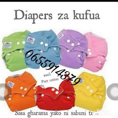 Diapers za kufua