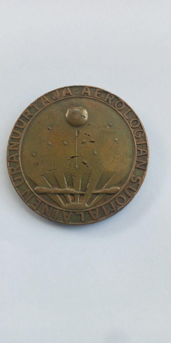 VILHO VAISALA MEDAL 1889.28.9 . 1959