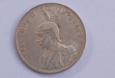 1906 German East Africa 1 Rupie J