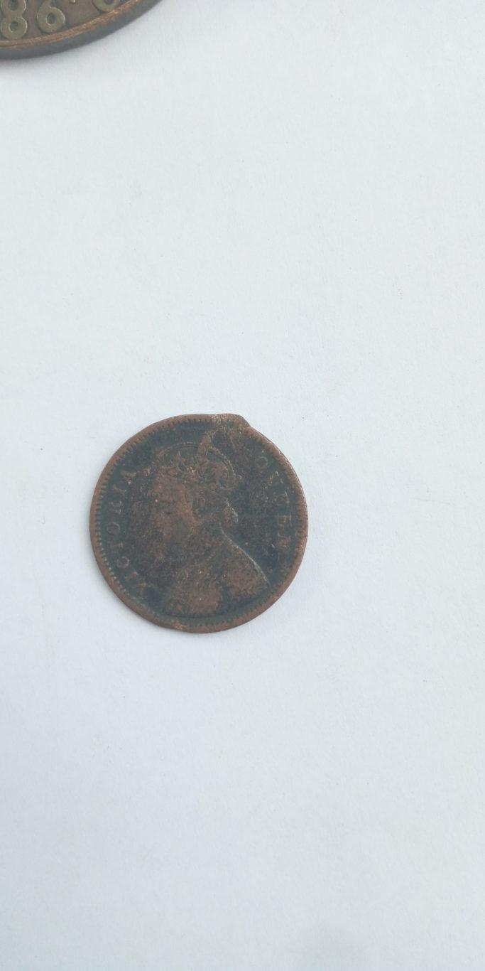 1862  ONE QUARTER ANNA INDIA