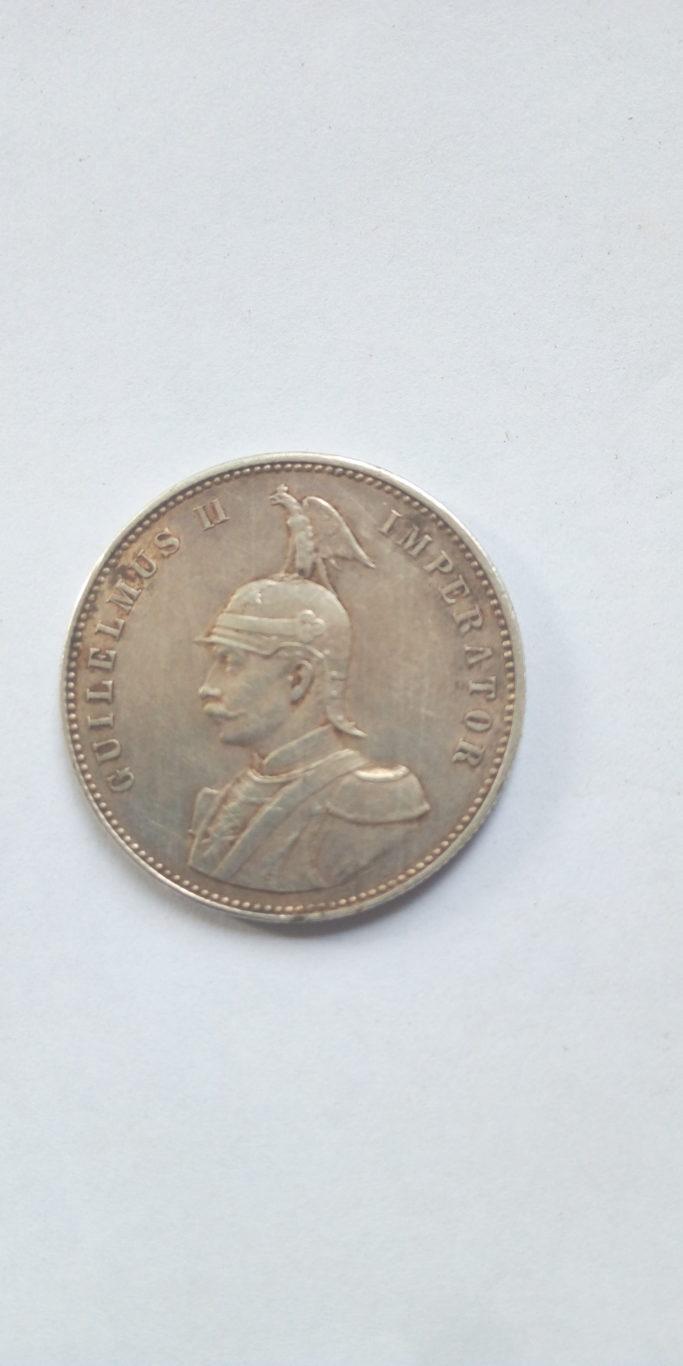 1907 J German East Africa 1 Rupie