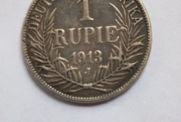 1913 J German East Africa 1 Rupie