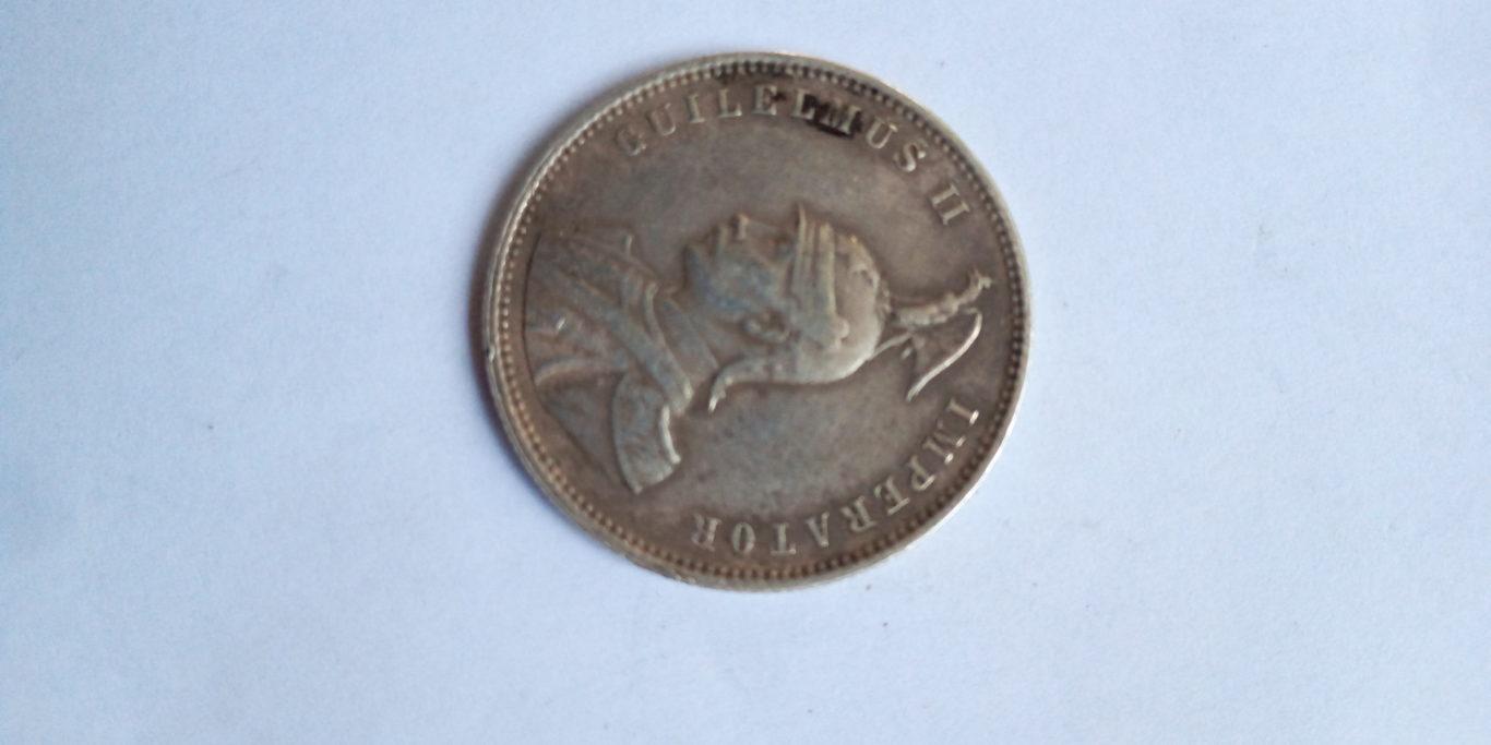 1914  J German East Africa 1 Rupie – HISTORICAL COIN- WORLD WAR MINT