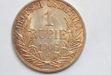 1906 J German East Africa 1 Rupie