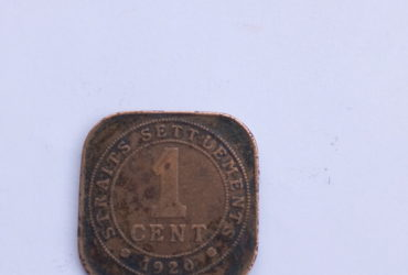 1920 STRAITS SETTLEMENTS 1 CENT
