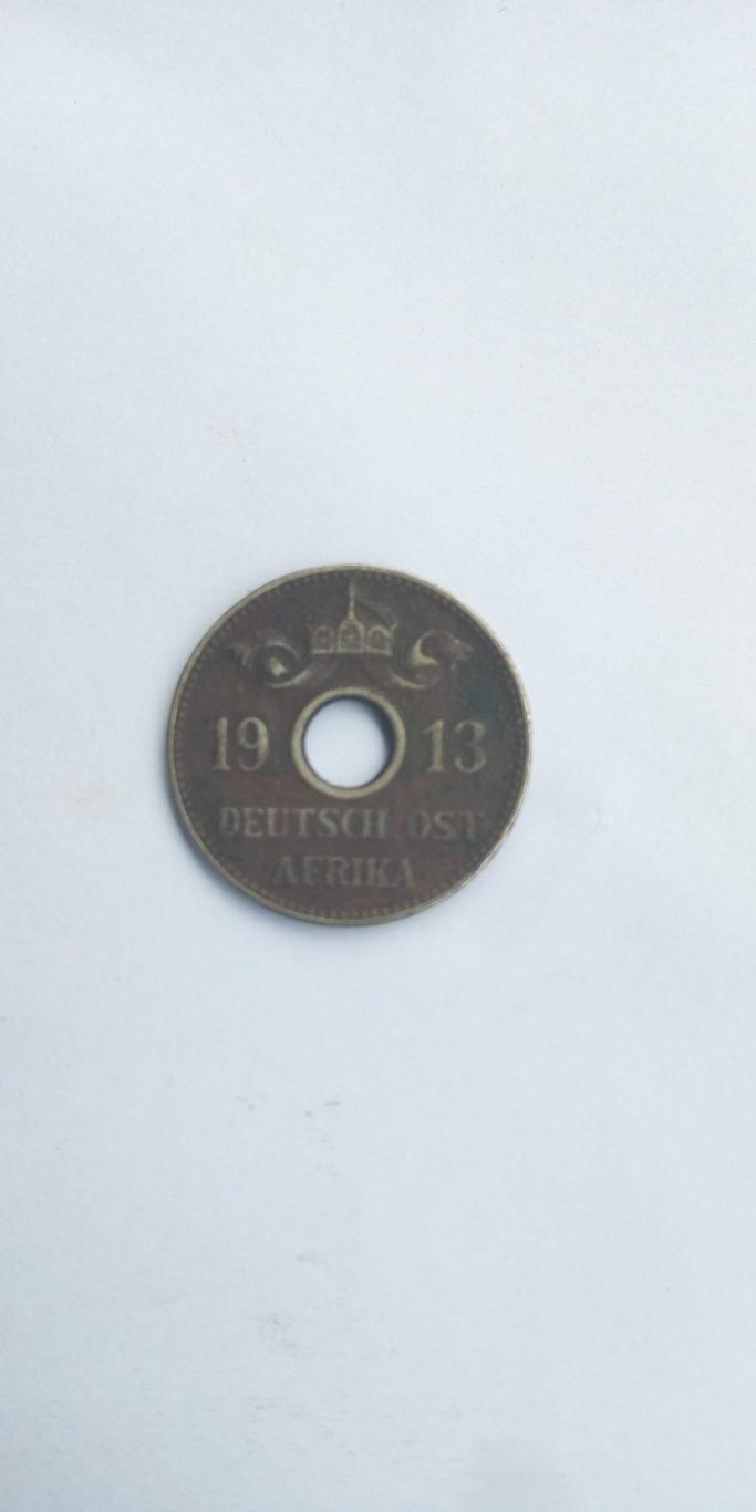 1913 Deutch Ost Africa 5 Heller