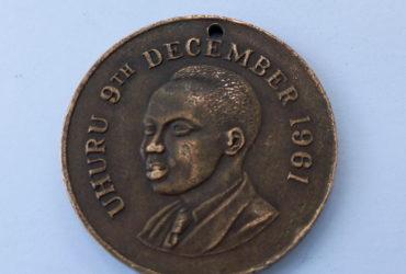 Medali ya UHURU 9 DECEMBER 1961