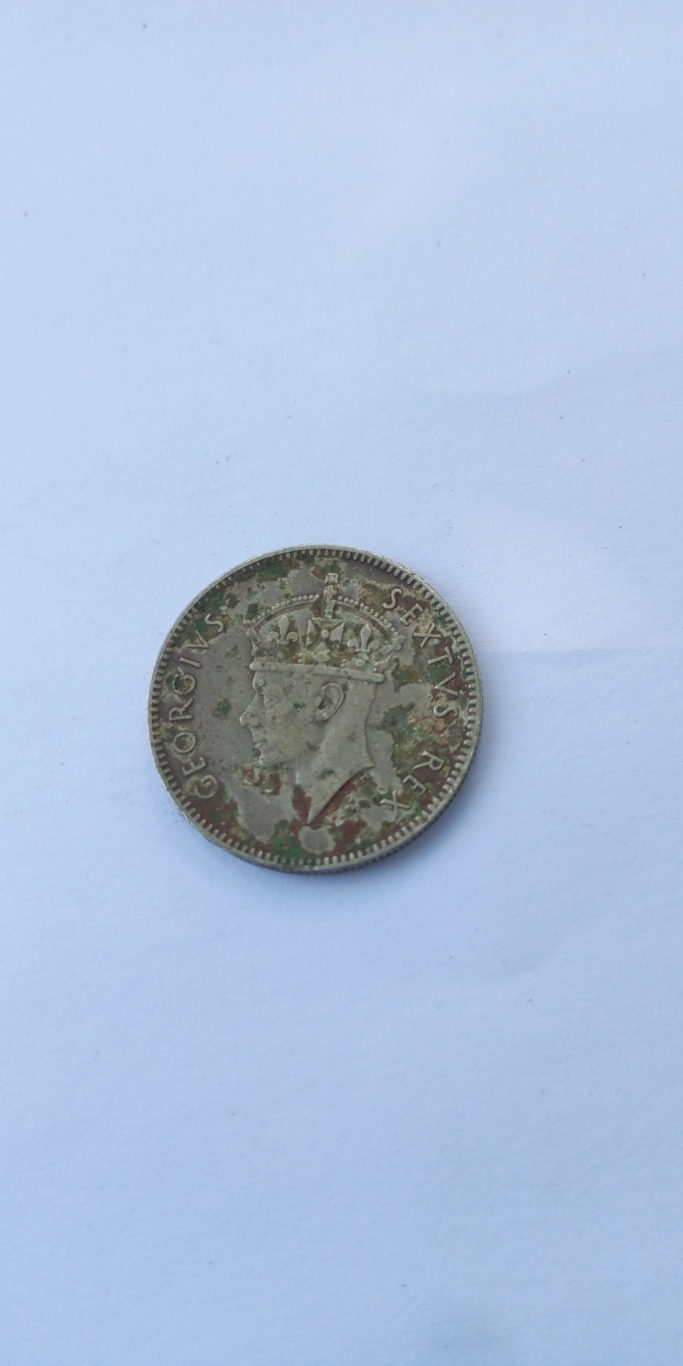 1948 HALF SHILLING – FIFTY CENTS GEORGIVS SEXTVS REX