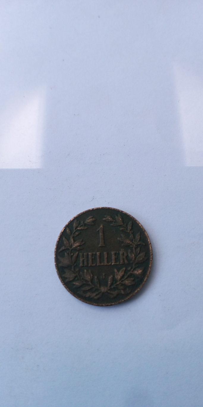 1907 J German East Africa 1 HELLER J