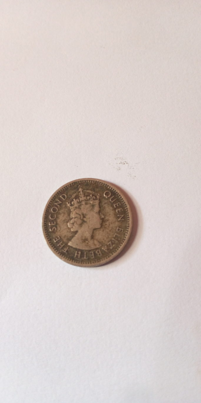 1963 FIFTY CENTS HALF SHILLING, EAST AFRICA COLONIAL COIN