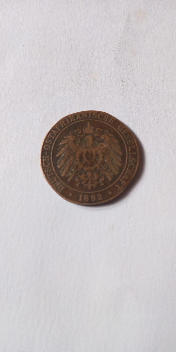 1892 DEUTSCH OSTAFRIKANISCHE GESELLSCHAFT