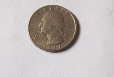 1977 UNITED STATES OF AMERICA QUARTER DOLLAR