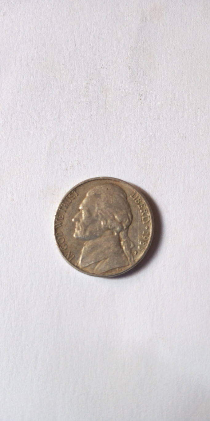 1983 FIVE CENTS UNITED STATES
