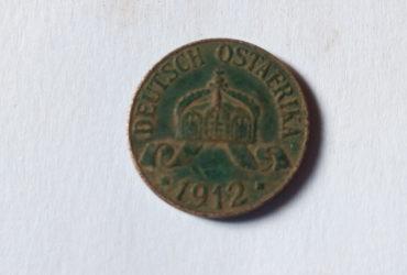 1912DEUTSCH OSTAFRIKA 1 HELLER J