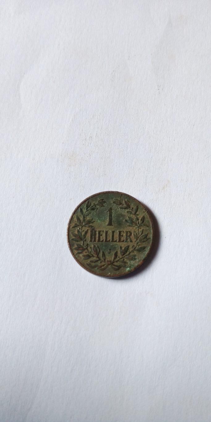 1911  German East Africa 1 Heller