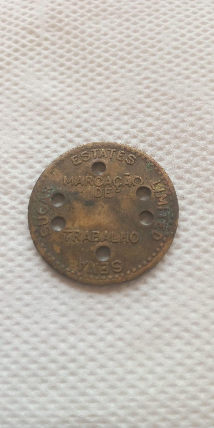 LUABO 6    SENA SUGAR ESTATES LIMITED – colonial Token ,coin – Mozambique
