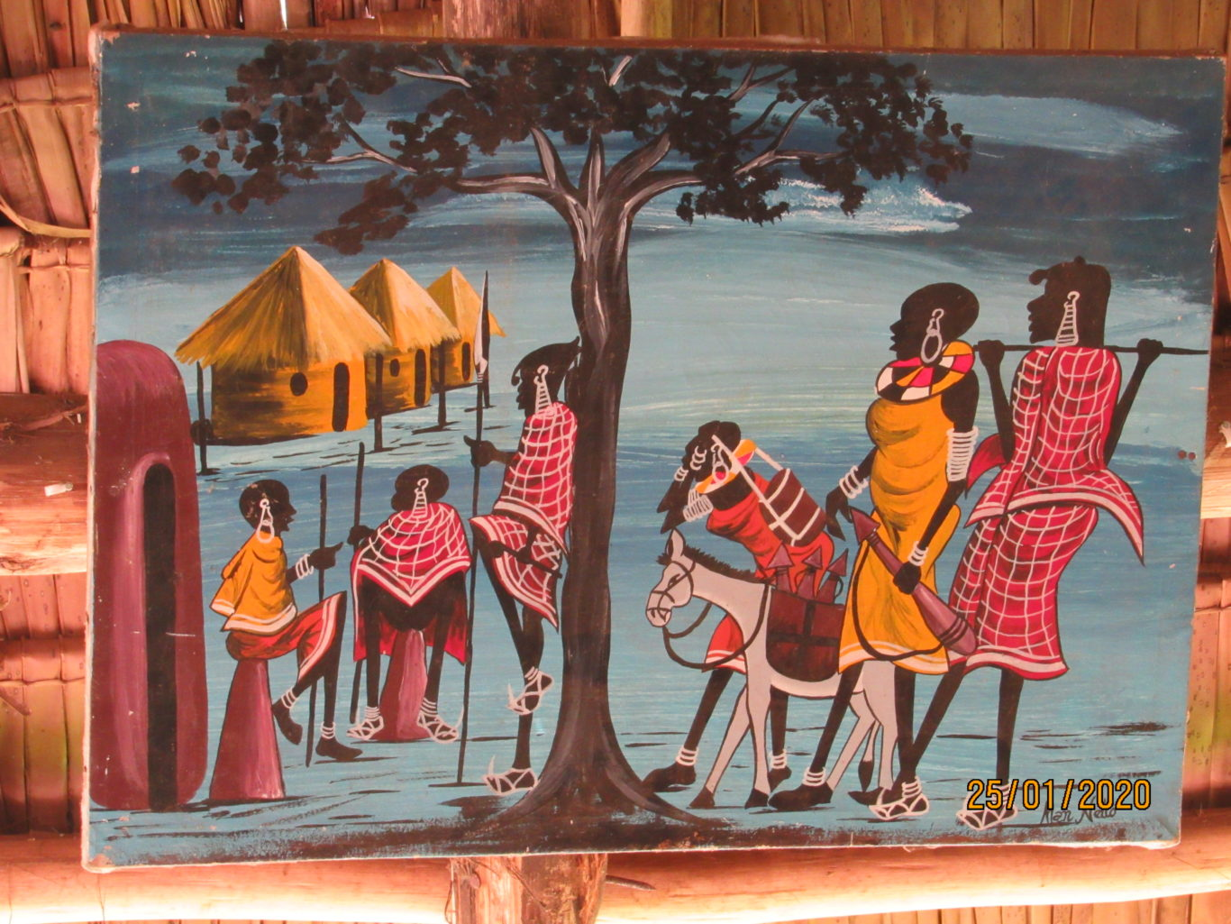 A4 Size ORIGINAL PAINTINGS FROM TANZANIA
