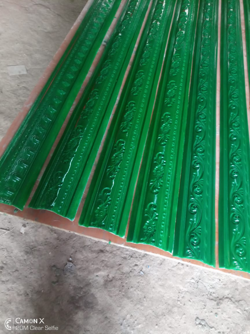 fibreglass moulds for making gypsum corners, medallions and cornices