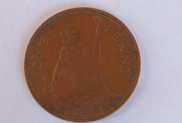 1961 one penny