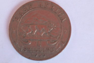 British east africa colonial coin 1949 one shilling