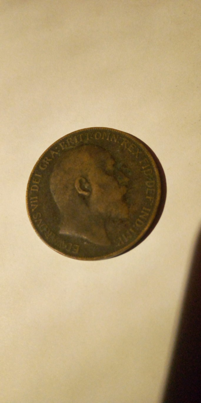 1910 one penny