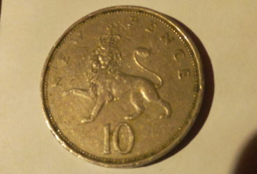1968 elizabeth the second 10 new pence