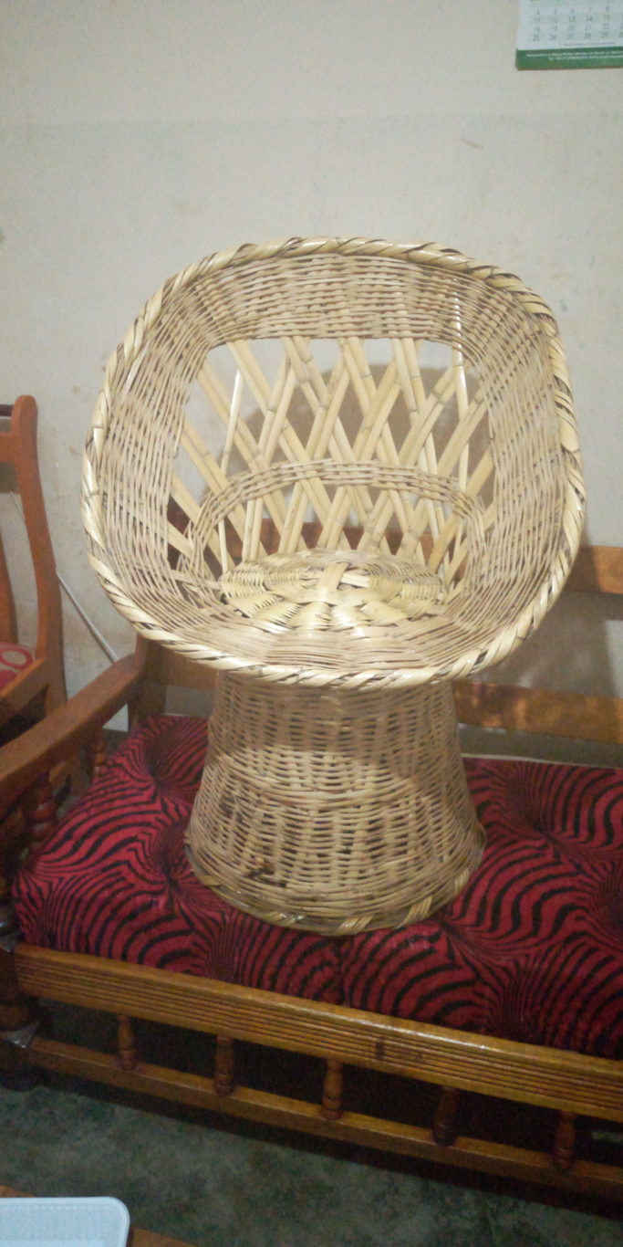 Bamboo chair (kit cha mianzi)