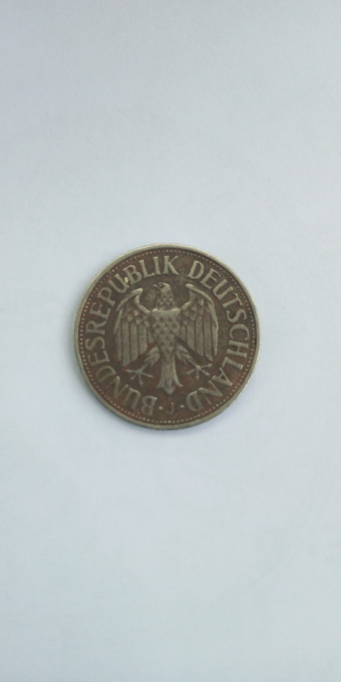 1950  1 deutsche mark