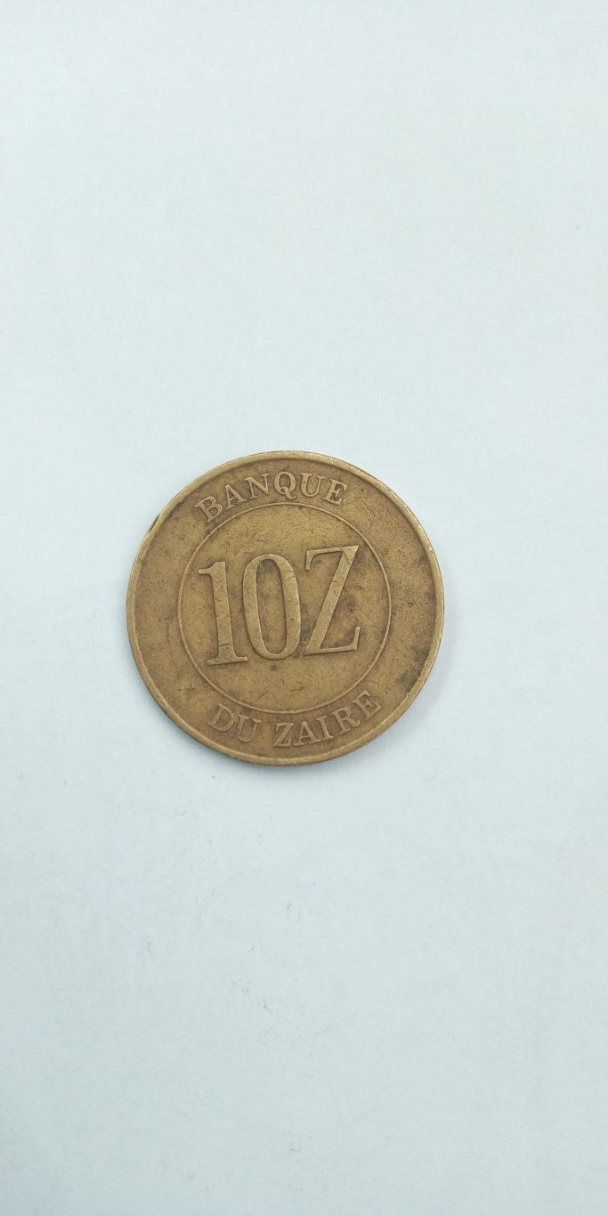 1988 Did zaires Banque du zaire 10z