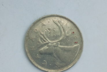 1968 canadian 25 cents