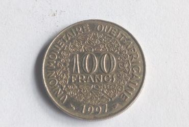 100 francs  union monetaire ouest africaine