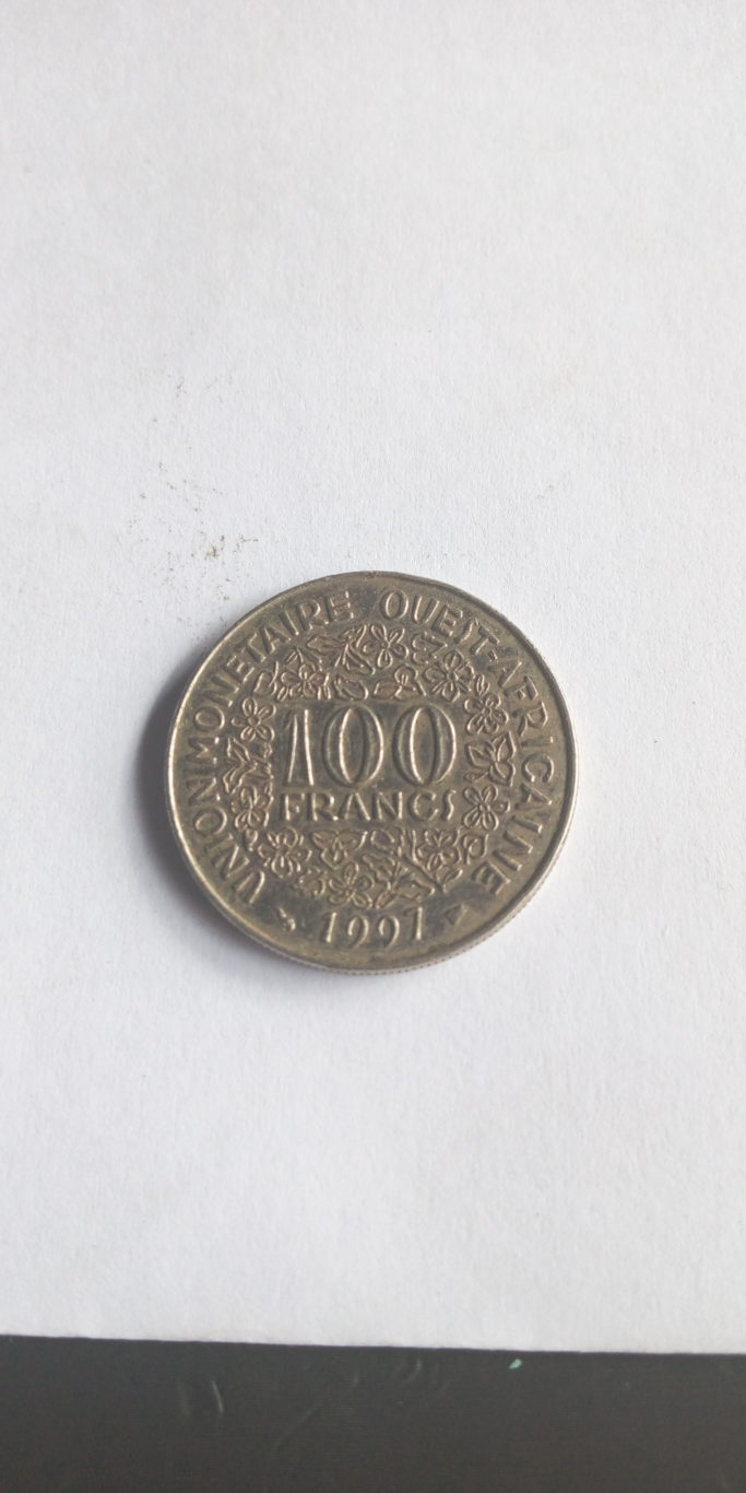 100 francs  union monetaire ouest africaine