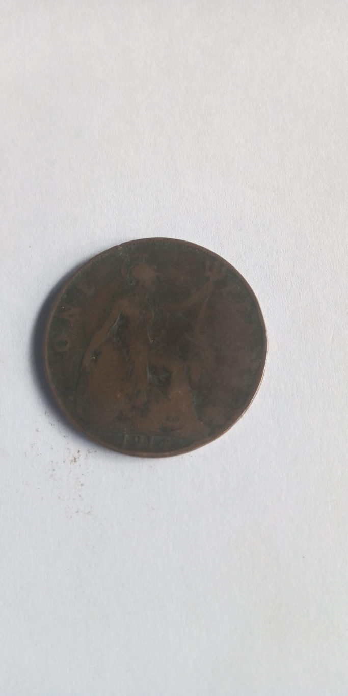 1914 one penny