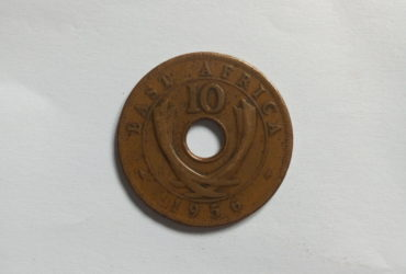 1956_Queen Elizabeth the second  10 cent