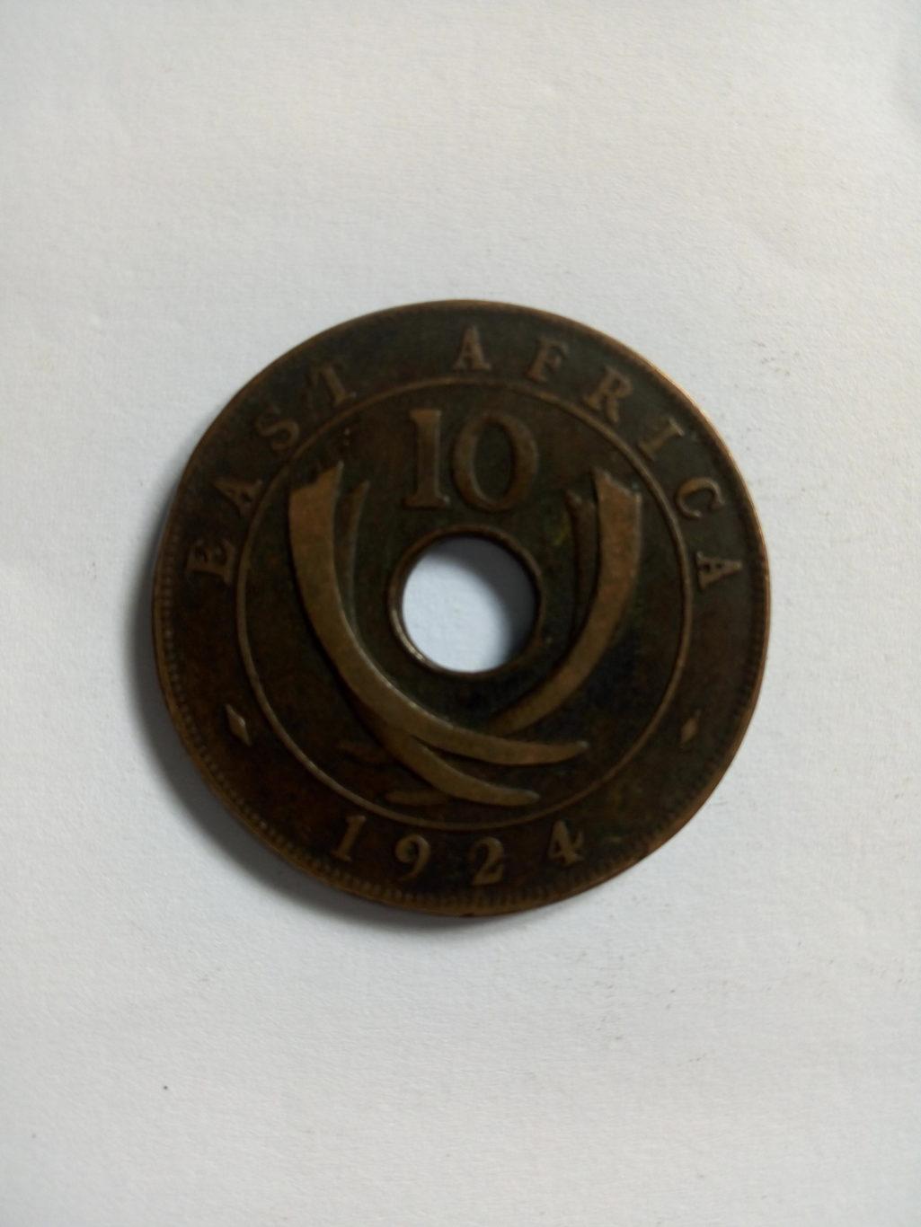 1924_georgivs rex east Africa 10 cents