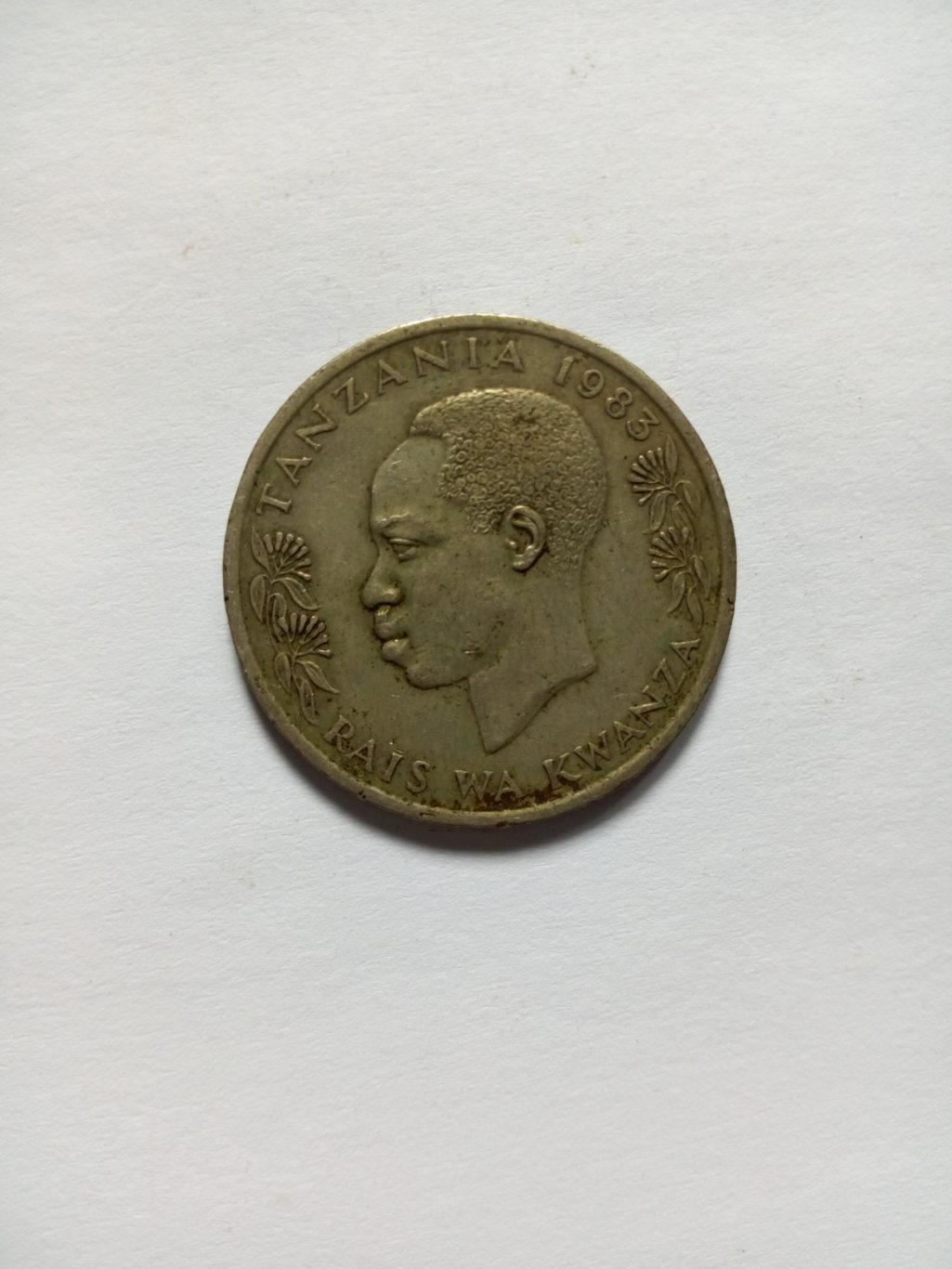 1983_shilingi 1 ya tanzania