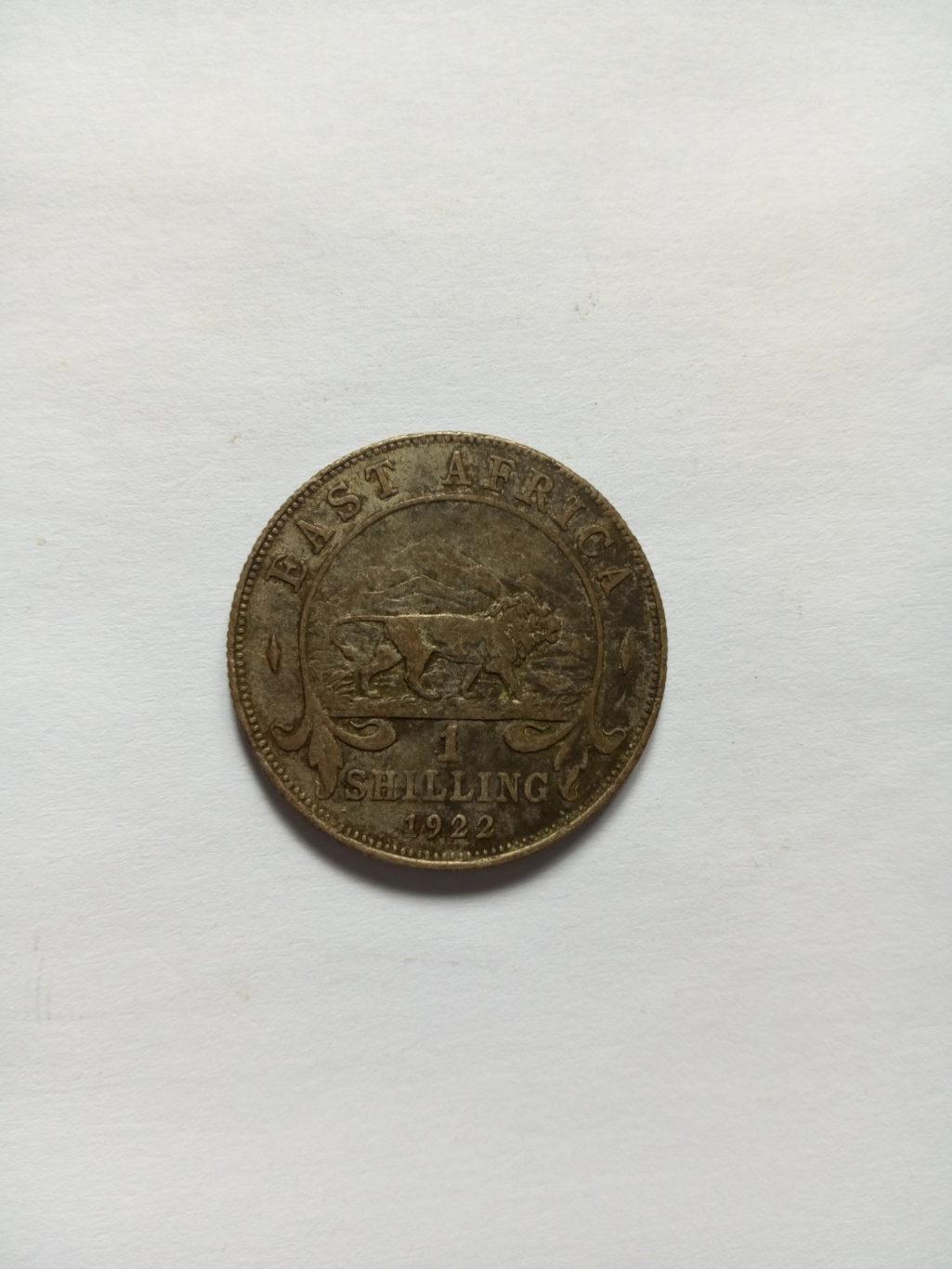 1922_georgivs Rex east Africa 1 shilling