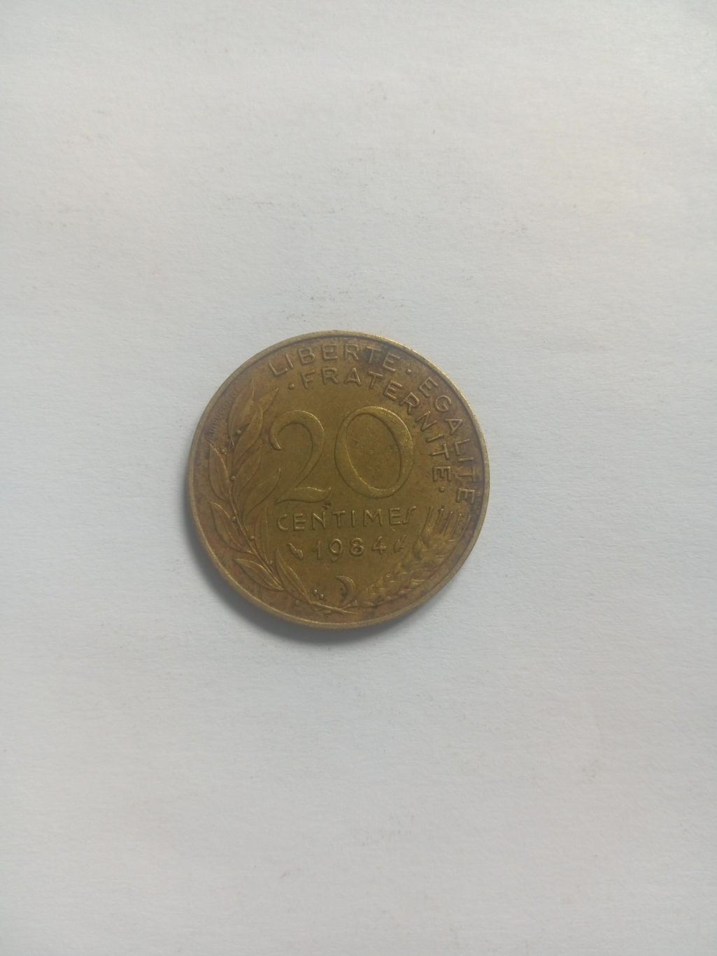 1984_republique francaise 20 centimes