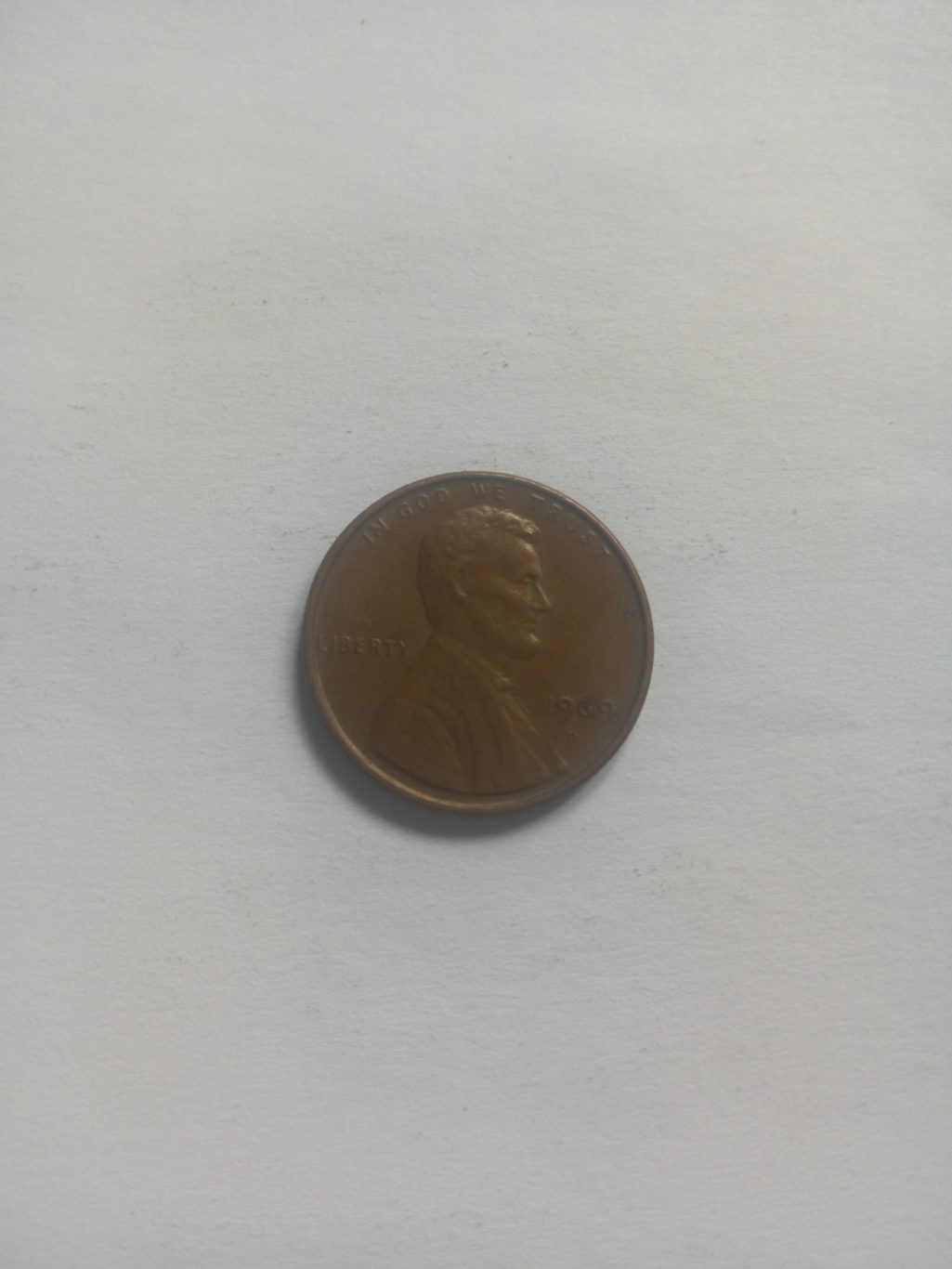 1969_united states of america 1 cent