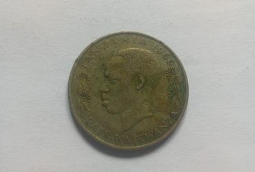 1966_shilingi moja ya tanzania
