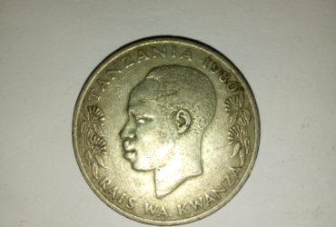 1980_ shilingi 1 ya tanzania