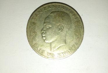 1981_shilingi 1 ya tanzania