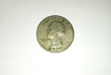 1988_ united states of america quarter dollar