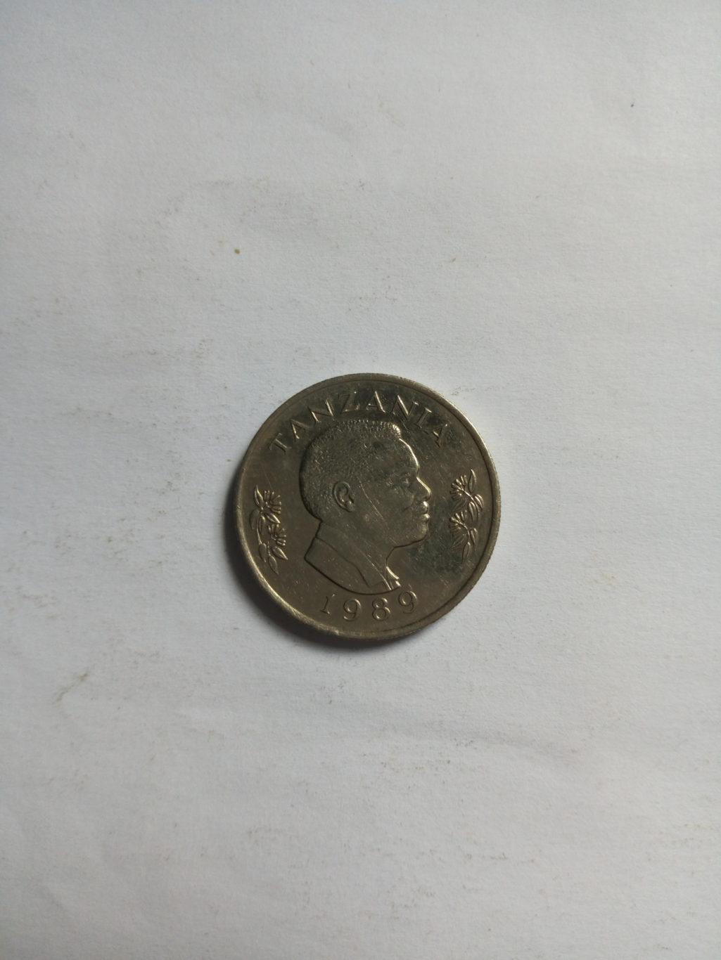 1989_ shilingi 1 ya tanzania