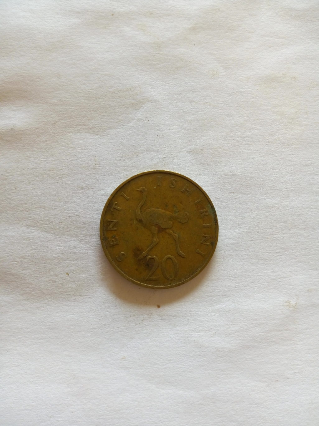 1973_ senti 20 ya tanzania