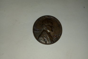 1965_ united states of America 1 cent
