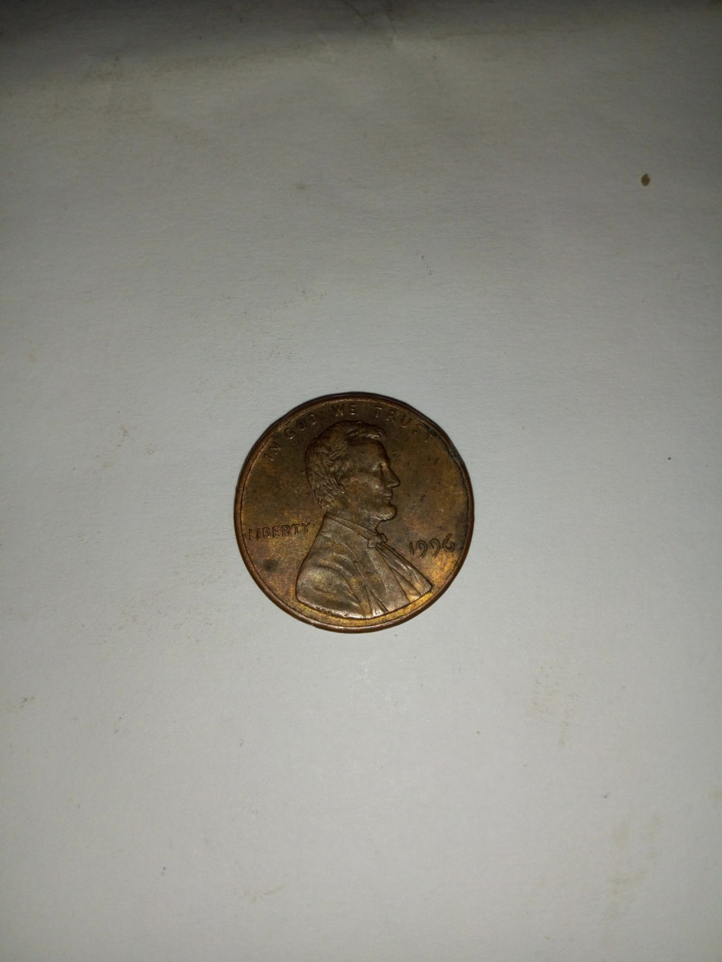 1996_ united states of America 1 cent