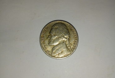 1982_ united states of America 5 cents