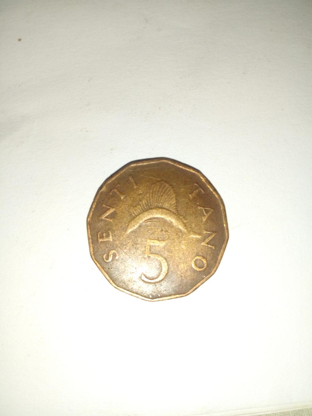 1972_ senti 5 ya tanzania