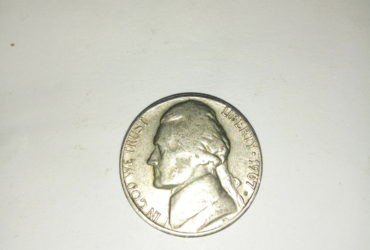 1967_ united states of America 5 cents